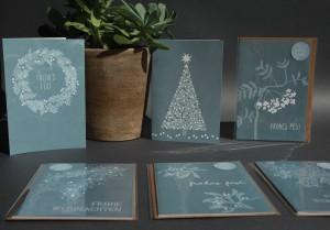 Weihnachtskarten_blau_Ensemble